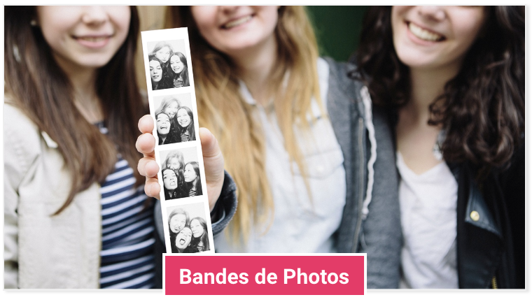 Bandes de photos